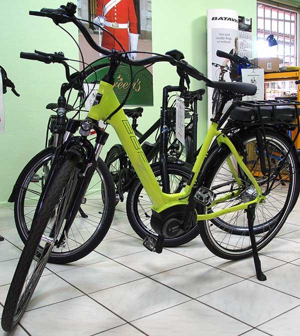 E-Bikes bei Griem Gartentechnik